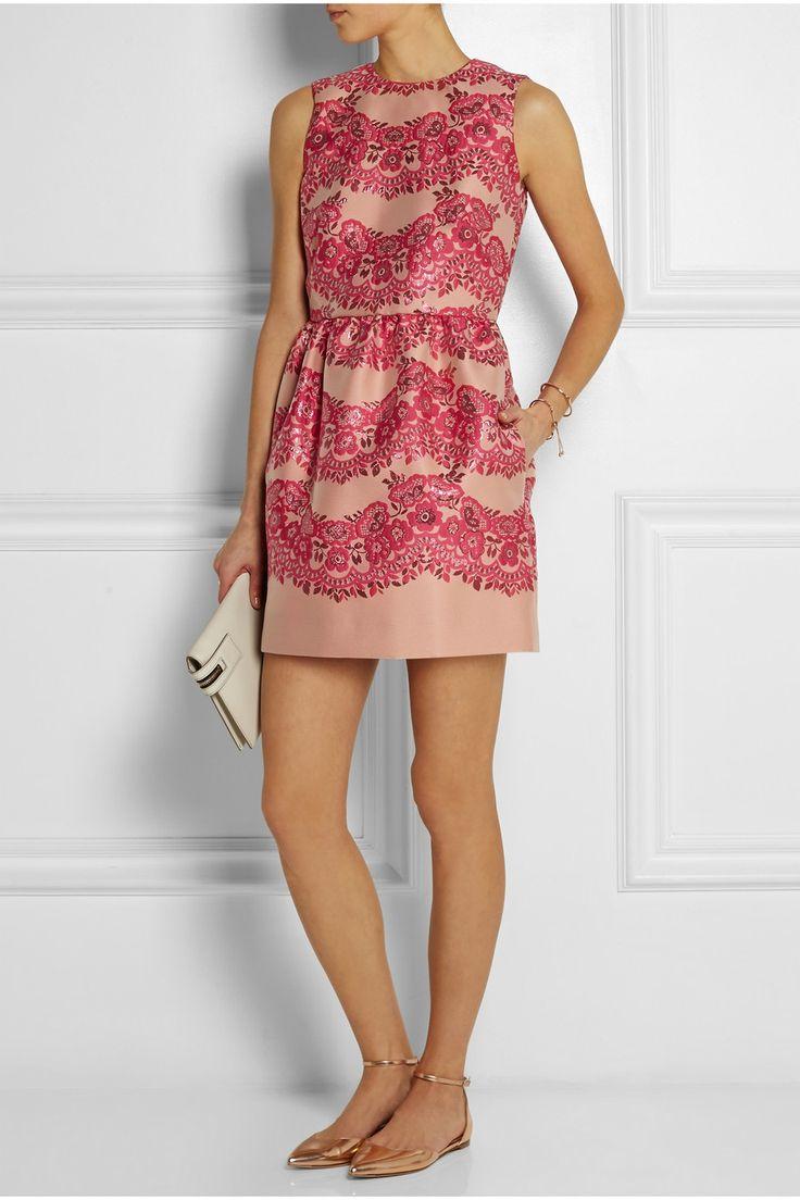 REDValentino | Brocade mini dress | NET-A-PORTER.COM