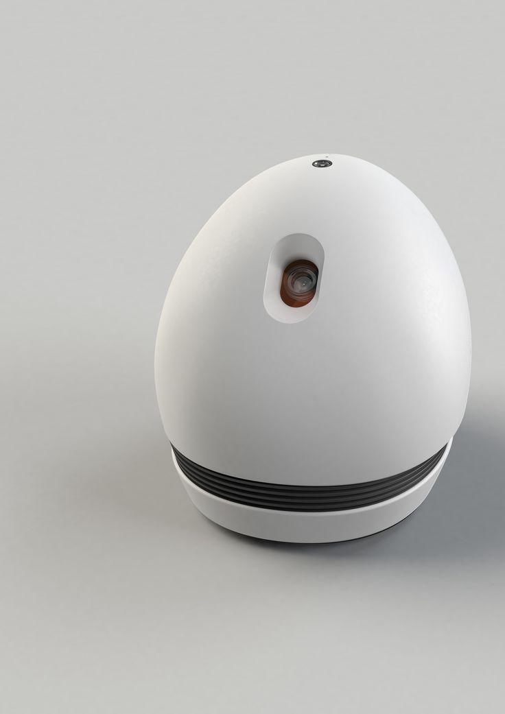 Vidéoprojecteur sur roulettes, connecté et contrôlable par android