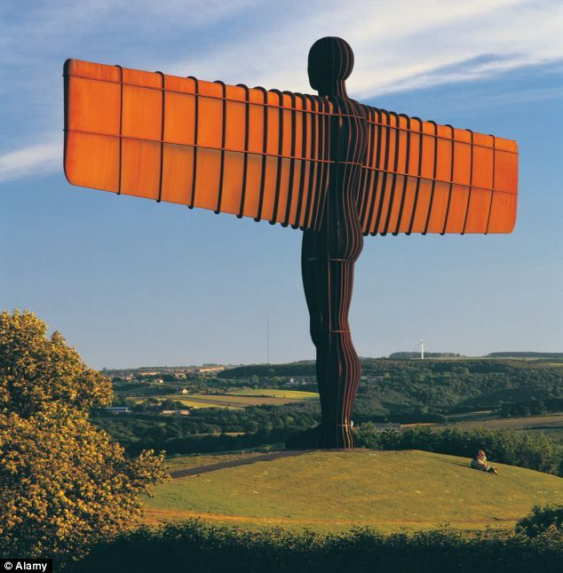 Angel of the North in Gateshead, UK. Almost got there, but not quite. Really want to see this.