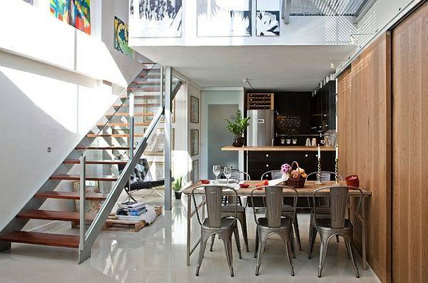 50 Einrichtungsideen Für Kleine Esszimmer   Esszimmer Esstisch Mit Stühlen  Treppe Geländer Transparent | Pinterest | Esszimmer, Einrichtungsideen Und  ...