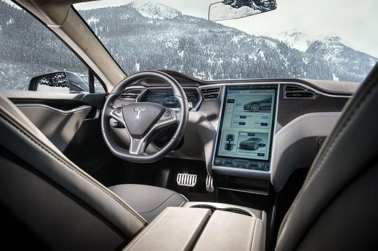 Tesla Model S P85D - cabin