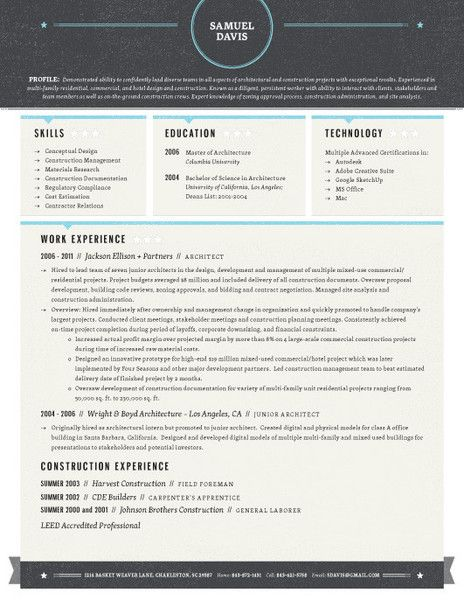 52 best Contemporary Resumes images on Pinterest Resume ideas - resumes