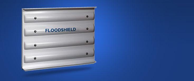FLOODSHIELD®   Flood Protection Door Barrier