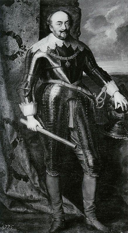 Copy after Anthony van Dyck - - - Count Johann III of Nassau-Siegen