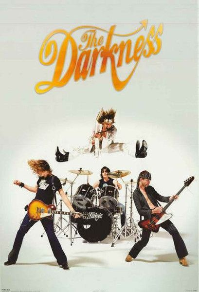 This fantastic band poster of Justin Hawkins and The Darkness will really jump from your wall! Published in 2004. Fully licensed. Ships fast. 24x36 inches. Need Poster Mounts..? py30044