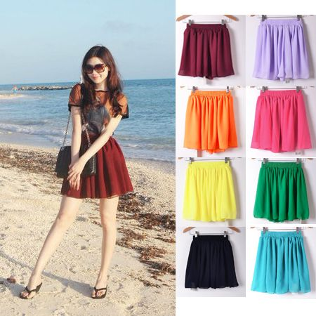 Cheap Skirts, Buy Directly from China Suppliers: 2015 Free Shipping Women High Quality Summer Chiffon Pleated Skirt Fashion Sexy Mini Skirt High Waist BSQ-0252   This s