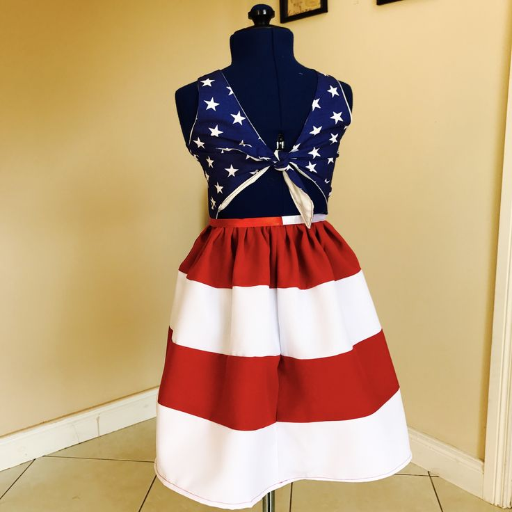 4th of July dress , lajupemix , kids fashion , patriotic dress , kids dress , captain America dress