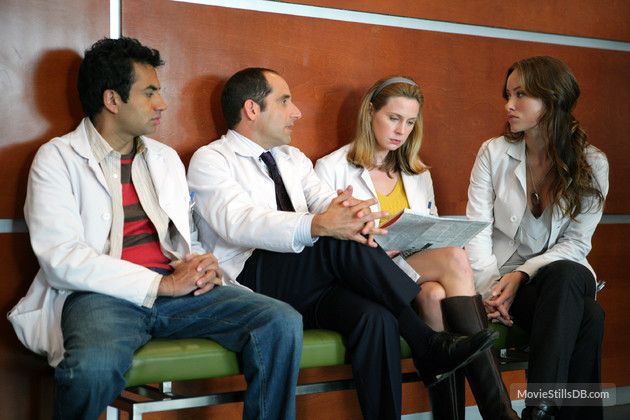 House M.D. - Publicity still of Kal Penn, Peter Jacobson, Olivia Wilde & Anne Dudek