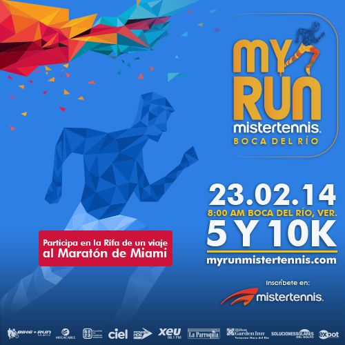 Alrededor de 1,750 corredores participarán... ¿estás listo para ser uno de ellos? ¡Inscríbete a MY RUN y supera tu meta! #Veracruz  Para mayor información consulta: https://www.facebook.com/events/676030065781369/