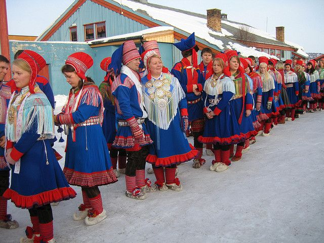 The Indigenous Sami people ( Minority Rights Group International Image )
