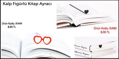 kalpli kitap ayracı modelleri