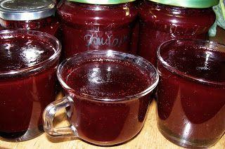 W Mojej Kuchni Lubię.. : szybkowar-z aronii i śliwek z cynamonem dżemik...