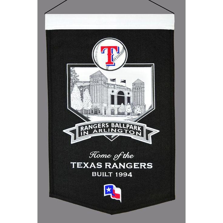"Texas Rangers Mlb Rangers Ballpark ""stadium"" Banner (20""x15"")"