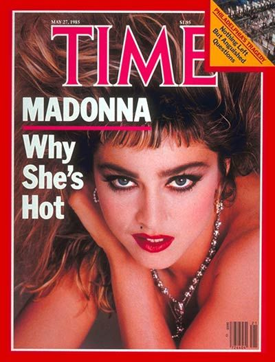 Madonna | May 27, 1985  faceva freddo anche allora e anche allora c'era Madonna dappertutto!!!