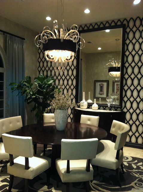 8954 best home design off the mountain images on for Formal dining rooms elegant decorating ideas