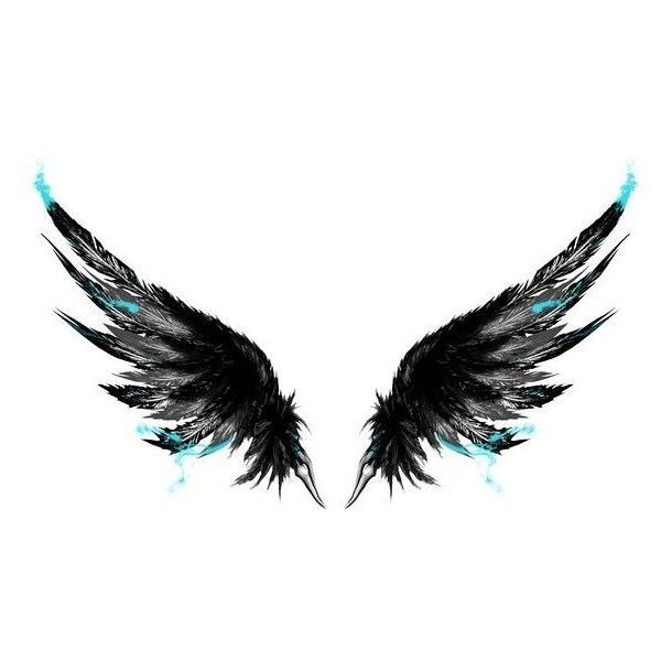 Image result for angel wing tattoo