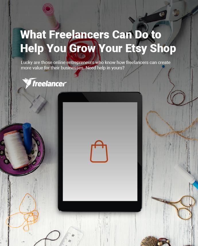 What Freelancers Can Do to Help You Grow Your Etsy Shop #business #startups #employertips #businesstips #entrepreneurs #entrepreneurship #etsy