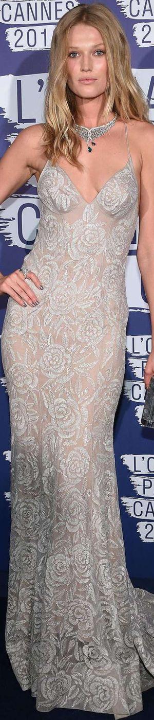 Toni Garrn 2016 Cannes Film Festival via LOLO repin Bella Donna's Luxury Designs