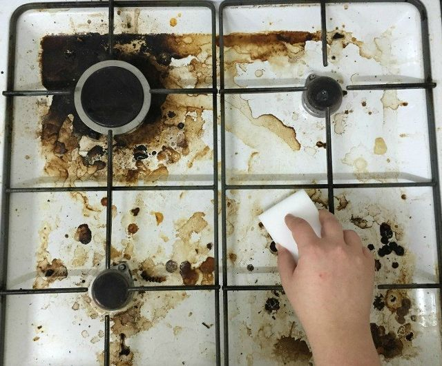 clean stove tops brilliant trip make it sparkle, appliances, cleaning tips
