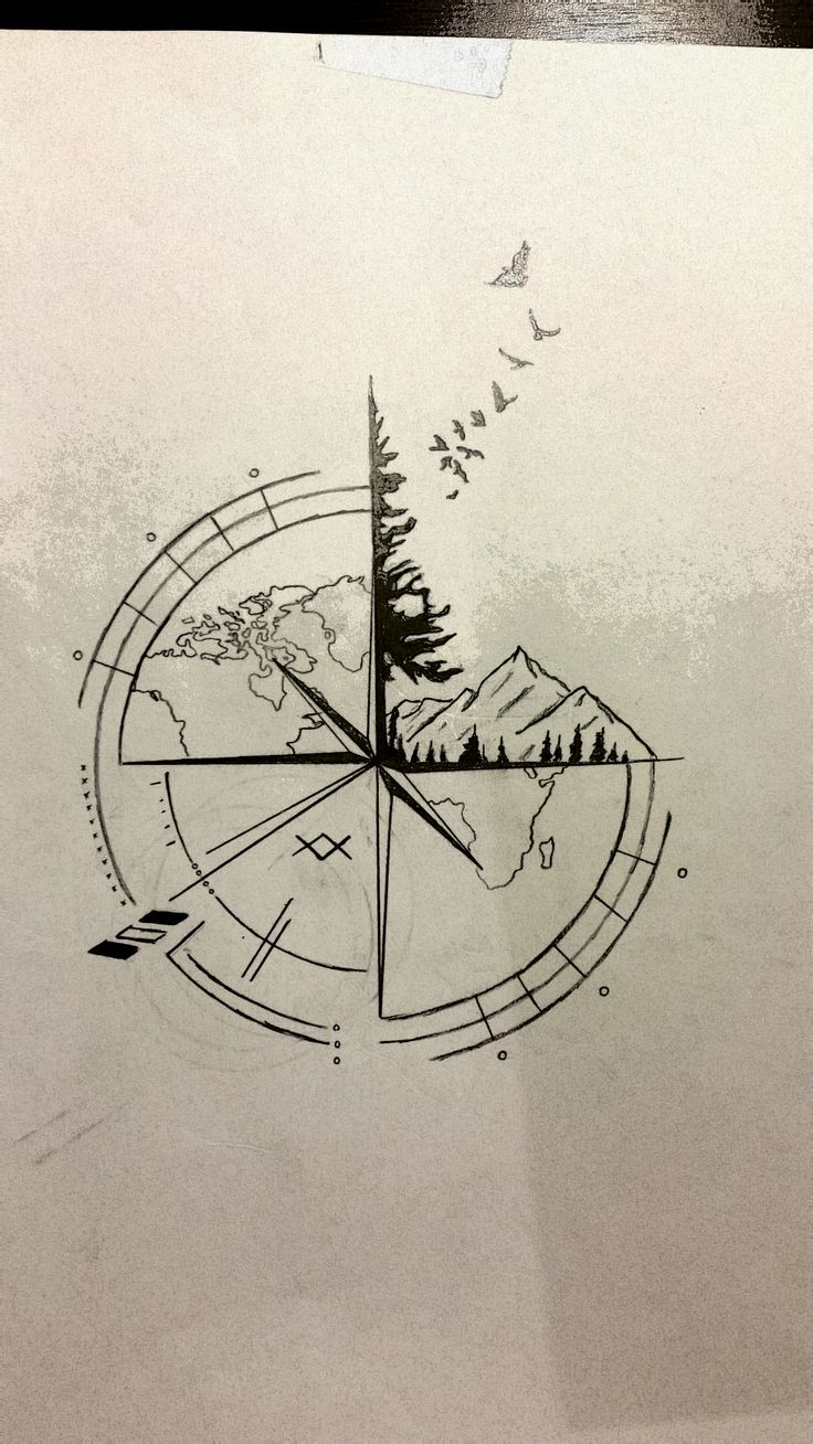807 besten tattoo uhren kompass sanduhren bilder auf. Black Bedroom Furniture Sets. Home Design Ideas