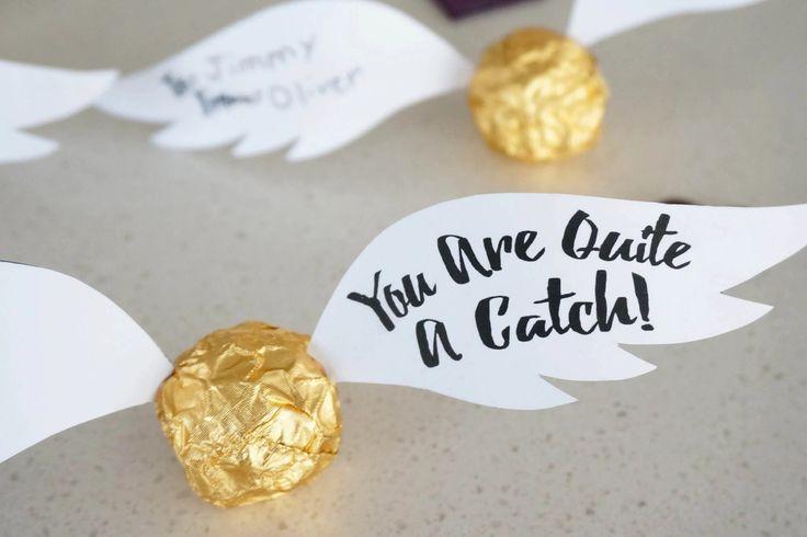 Hello Clover // Harry Potter Golden Snitch Valentine – Julie (B) Cohorst