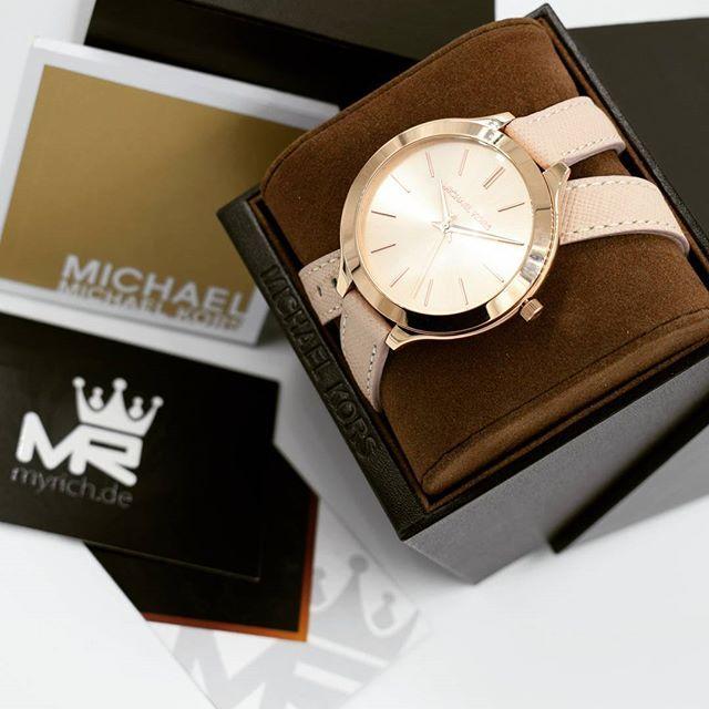 Michael Kors MK2469 | @MyRich.de #MichaelKors #michaelkorswatch #mk #logo #original #official #watch #style #uhr #trend #mk2469 #jetset #new #lifestyle #brand #luxus #juwelry #luxury #lady #fashion #beauty #womensfashion #special #rosé #rosegold #leather #beige #accessories #crystal