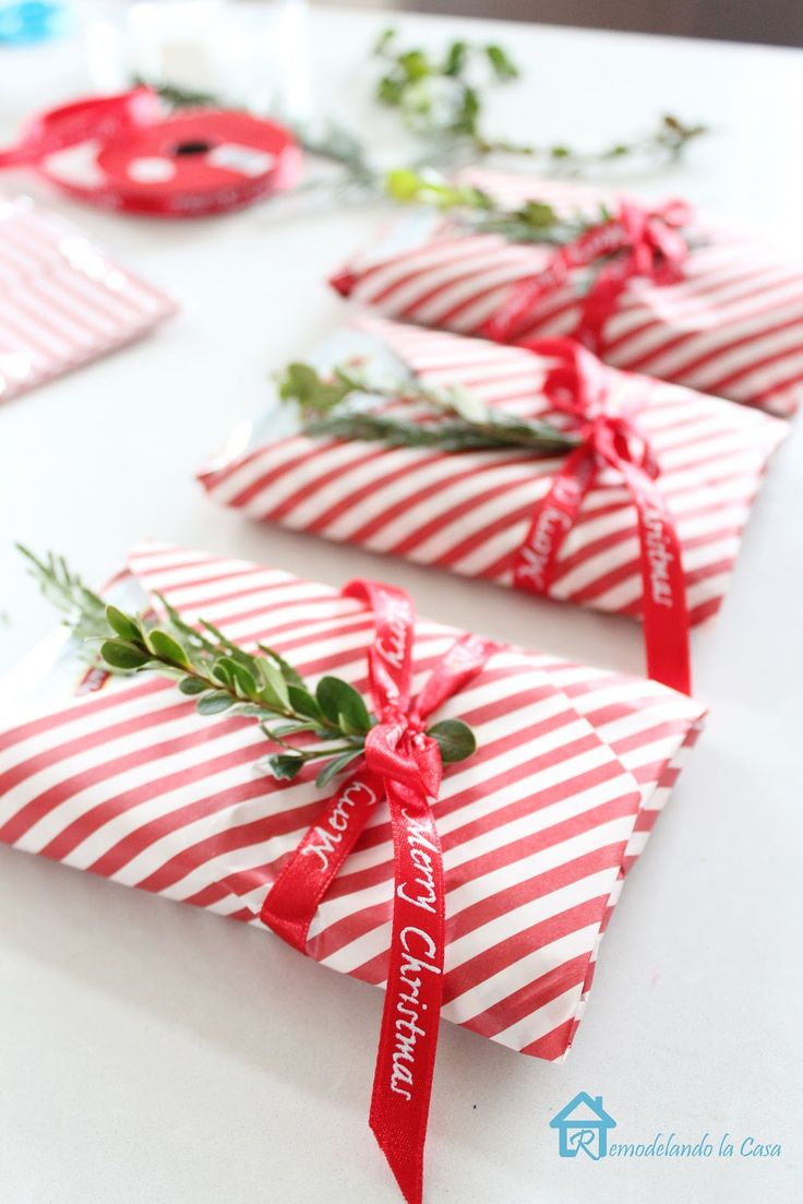 Cute wrapping.