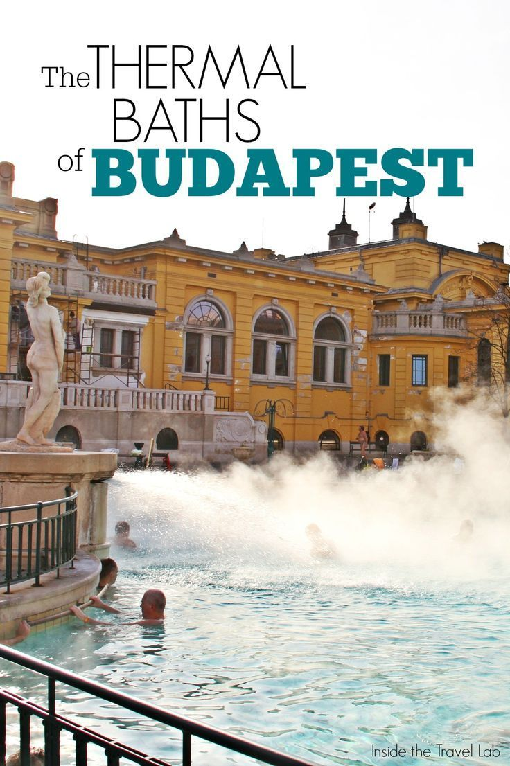 Thermal baths are to Budapest what baguettes and boulangeries are to Paris or yellow taxis are to New York. Locals and visitors enjoy the cleansing and healing benefits of the thermal water, sometimes while enjoying a game of chess. Via @insidetravellab