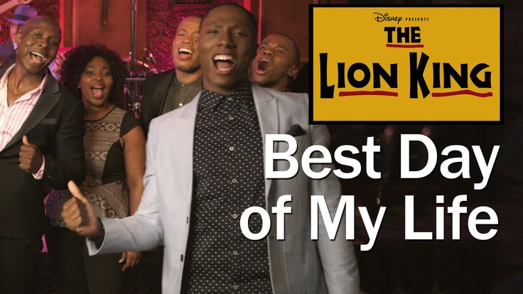 """The Lion King Broadway cast performs a mashup of American Authors' """"Best Day of My Life"""" and """"Hakuna Matata"""" from The Lion King on Broadway, performed at 54 ..."""