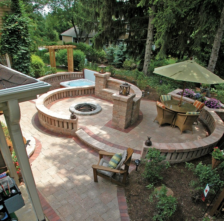 12 Great Ideas For A Modest Backyard: 12 Best Images About Unilock