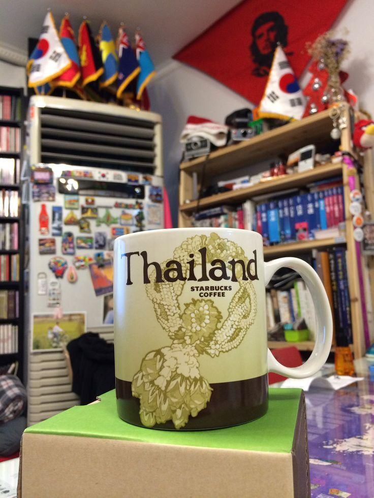 Starbucks Mug #Thailand.  @mary v Hongdae Guesthouse.  www.gethongdae.com