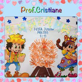 Educacao Infantil Criativa Mural Para Festa Junina Infantil 1