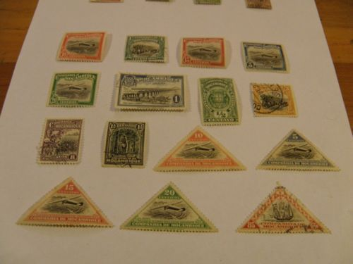 15 x 1935-37 stamps of Mozambique Company. Sold продана