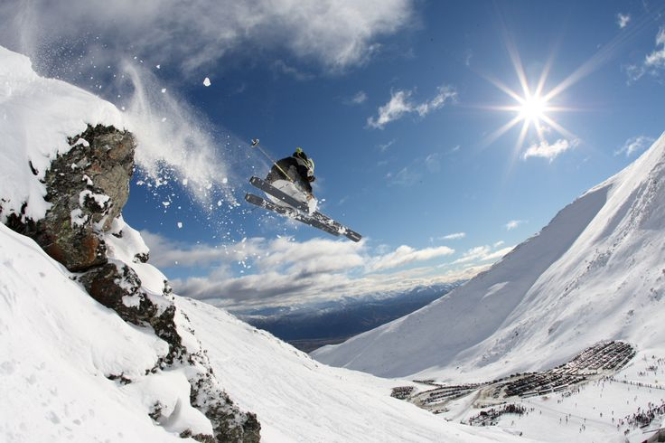 skiing nz | ... in Queenstown, New Zealand (Aotearoa)---The Remarkables Ski Area