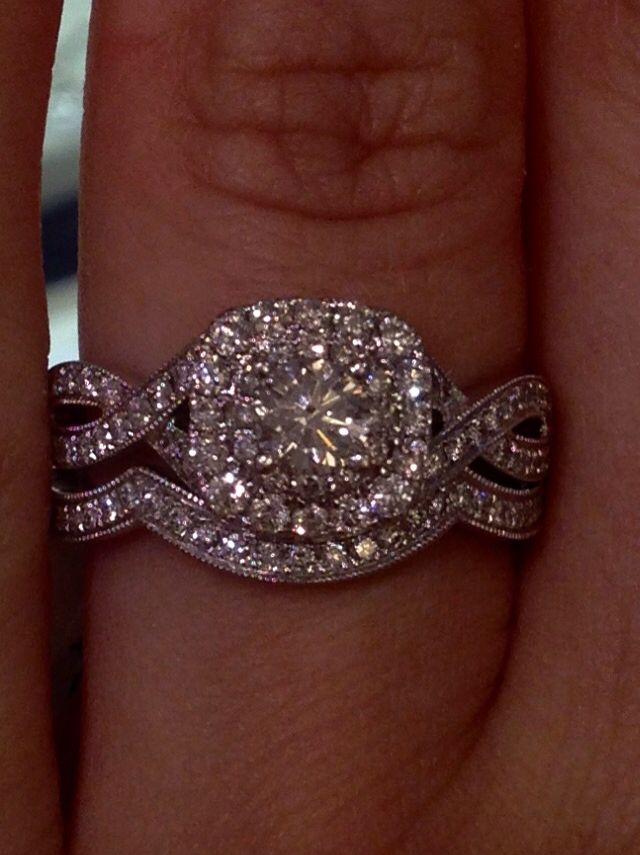 The perfect gorgeous wedding band - in love with this ring ~ Neil lane