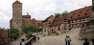 Nuremberg Castle - One of Europe's most impressive medieval fortresses. (About 1 hour south of Würzburg.