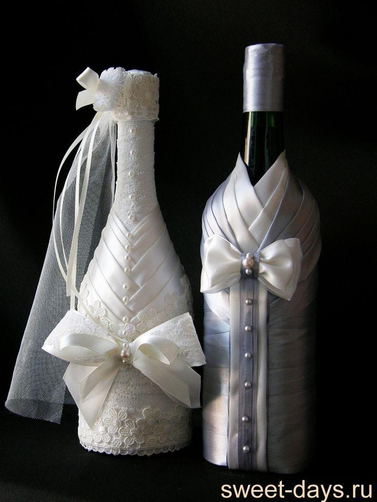 свадебная бутылка декоративная - Recherche Google