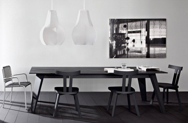 Gervasoni, project by Paola Navone: Sweet 33 & Sweet 34 table.