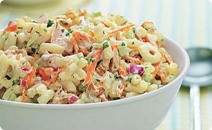 ▪Μακαρονοσαλάτα με κοτόπουλο ▪Pasta salad with chicken