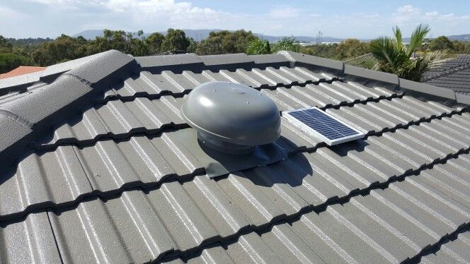 Roof ventilation extraction fan installed by Click4Trades