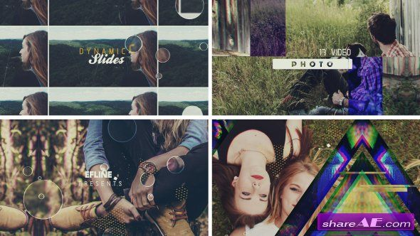 Videohive Dinamic Slides