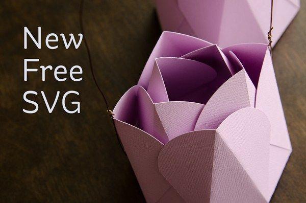 Download 3d Paper Tulip Tulips Card Flower Svg Files 3d Paper