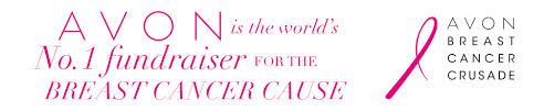 October is Breast Cancer Awareness Month. Show your Pink with AVON's Pink Ribbon Products: https://www.avon.com/search/pink_ribbon?cel_id=pink ribbon|T_pink_ribbon A percentage of all sales go directly to the AVON Breast Cancer Crusade and the research, prevention, and treatment of Breast Cancer