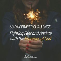 Fight anxiety with this 30 day prayer and scripture guide! Free downloadable guide to work through for a month!