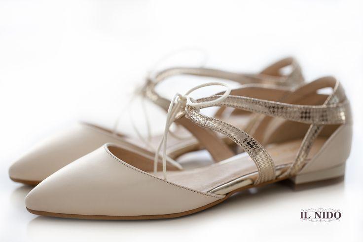 Carla Ricci beige low shoes