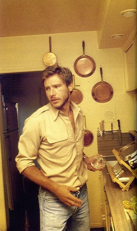 Retro Vintage Mod Style: Harrison Ford: Perfect Simplicity