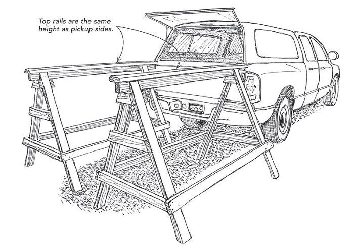 Fine Homebuilding - removing a truck topper by yourself