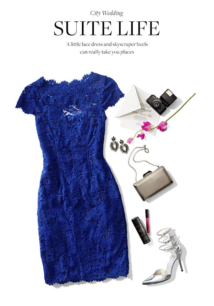 Meet the lld little lace dress rent the look and get for Rent dress for wedding guest
