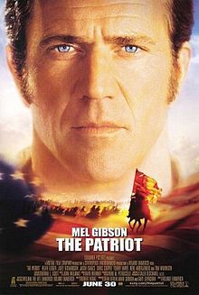 """Patriot act: Mel Gibson takes a stand in the American Revolution. Based on the legend of """"The Swamp Fox."""" Directed by Roland Emmerich (""""Independence Day"""")."""