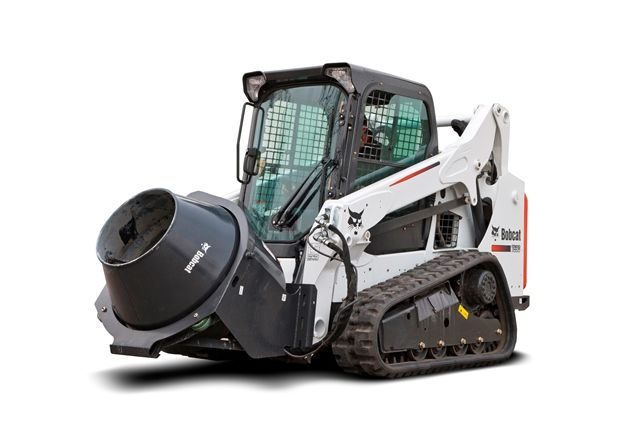 construction concrete mixers | New concrete mixer attachment for Bobcats